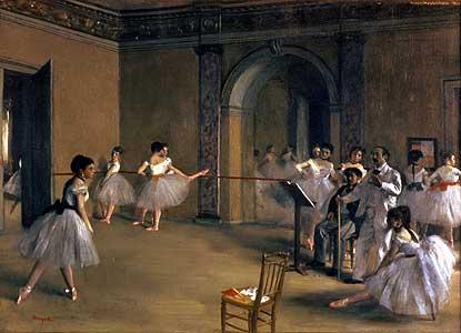 Le Foyer de la Danse... - Edgar Degas