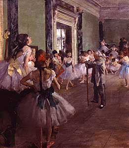 Die Tanzklasse - Edgar Degas