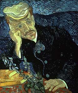 Bildnis des Dr.Gachet - Vincent van Gogh