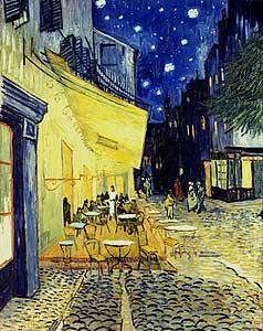 Caf�-Terrasse am Abend - Vincent van Gogh