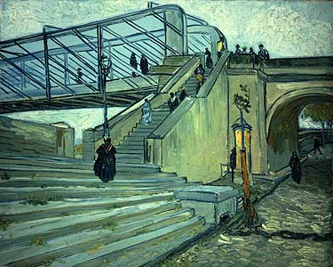 Die Br�cke von Trinquetaille - Vincent van Gogh