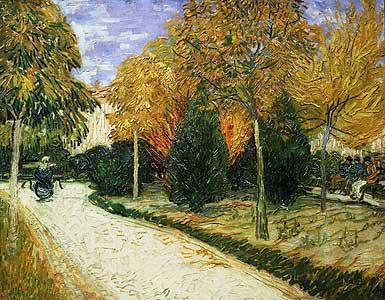 Der Jardin Public - Vincent van Goghm