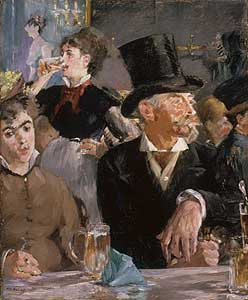 Le Café - le Concert - Edouard Manetm