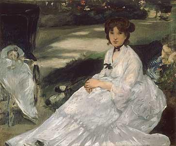 Im Garten - Edouard Manet