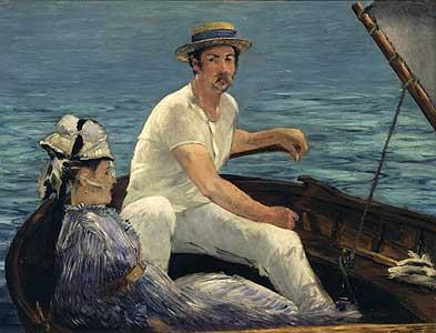 Die Bootspartie - Edouard Manet