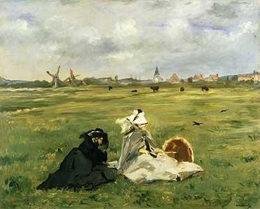Die Schwalben - Edouard Manet