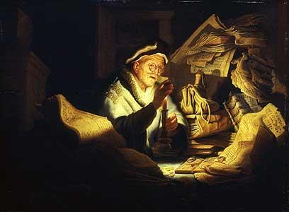 Das Gleichnis vom Reichen - Rijn van Rembrandt