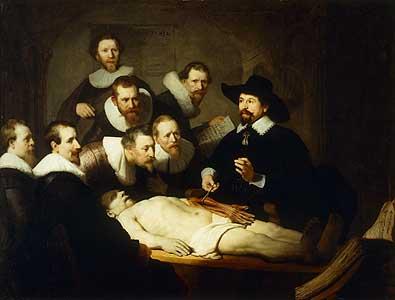 Der Arzt Nicolaes Tulp - Rijn van Rembrandt