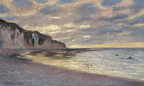 Ebbe bei Pointe de L`Ailly - Claude Monet