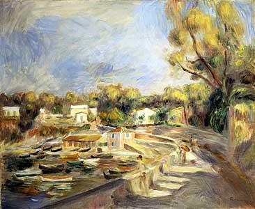 Cagnes - Auguste Renoir