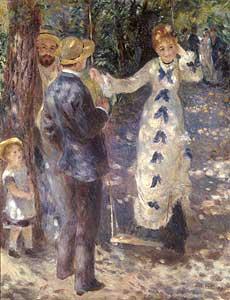 Auf der Schaukel - Auguste Renoir