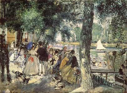 An der Seine - Auguste Renoir