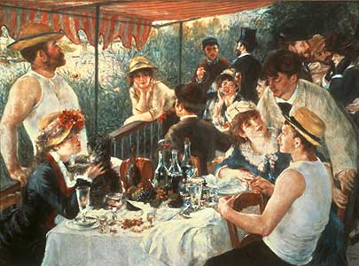 Das Frühstück der Ruderer - Auguste Renoir