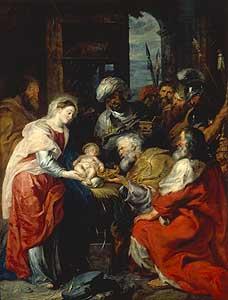 Die Anbetung der Könige - Peter Paul Rubens