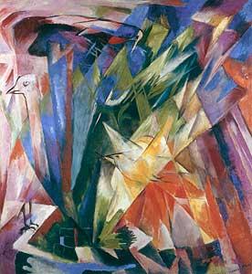 Vögel - Franz Marc
