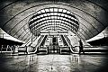 ooge.com Kunstdruck - Canary Wharf Tube Station -