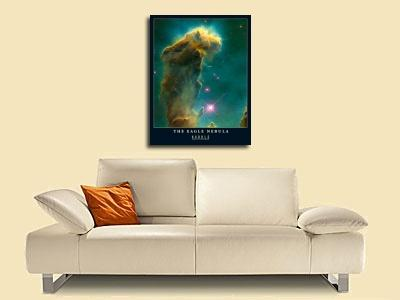 individuelle Kunstdrucke von Hubble-Nasa The Eagle Nebula