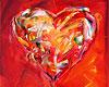 Herzbilder - Kunstdrucke